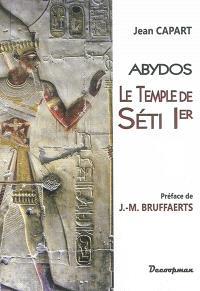 Le temple de Séti Ier : Abydos