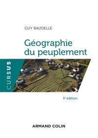 Géographie du peuplement