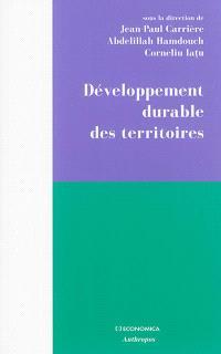 Développement durable des territoires