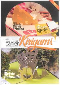 Cahier de kirigami. n° 18, Mobile animalier