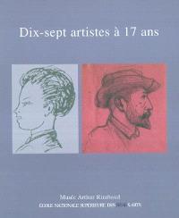 Dix-sept artistes à 17 ans : exposition, Charleville-Mézières, Musée Arthur Rimbaud, 14 juillet-21 novembre 2004