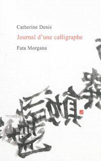 Journal d'une calligraphe