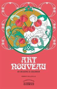 Art nouveau : 60 dessins à colorier