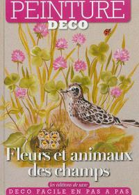 Fleurs et animaux des champs