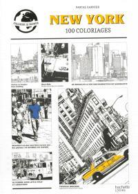 New York : 100 coloriages : colorier le monde
