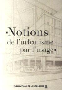 Notions de l'urbanisme par l'usage