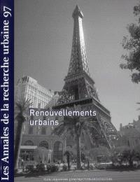 Annales de la recherche urbaine (Les). n° 97, Renouvellements urbains