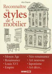 Reconnaître les styles de mobilier