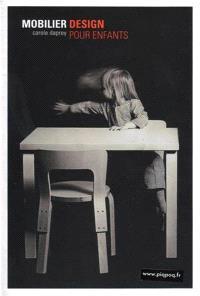 Mobilier design pour enfants