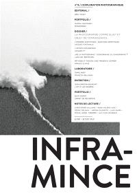 Infra-mince. n° 9, L'exploration photographique