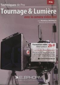 Tournage & lumière avec la caméra vidéo Red : techniques de pro