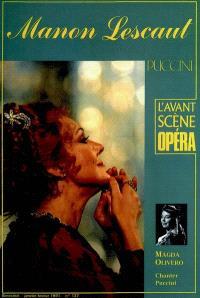 Avant-scène opéra (L'). n° 137, Manon Lescaut