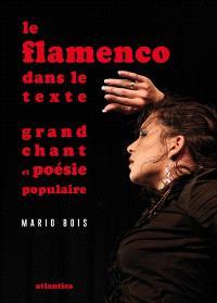 Le flamenco dans le texte : grand chant et poésie populaire