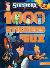 Slugterra : 1.000 stickers & jeux