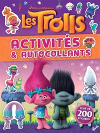 Les Trolls : activités & autocollants