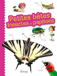 Petites bêtes : insectes et papillons
