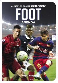 Agenda scolaire foot : année scolaire 2016-2017