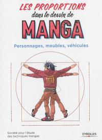Les proportions dans le dessin de manga : personnages, meubles, véhicules