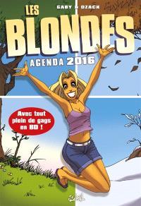 Les blondes : agenda 2016