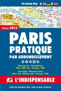 Paris pratique par arrondissement