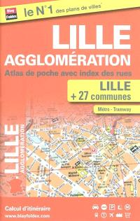 Lille agglomération : atlas de poche avec index des rues
