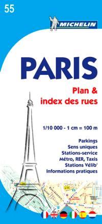 Paris : plan & index des rues