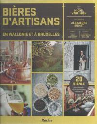 Bières d'artisans en Wallonie et à Bruxelles : 20 bières exceptionnelles et 20 recettes pour les déguster