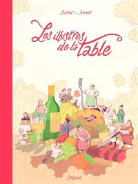 Les illustres de la table