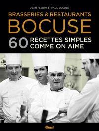 Brasseries & restaurants Bocuse : 60 recettes simples comme on aime