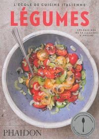 L'école de cuisine italienne, Légumes