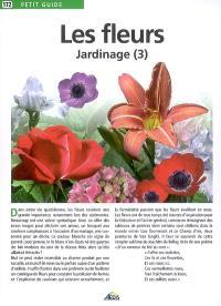 Le jardinage. Volume 3, Les fleurs