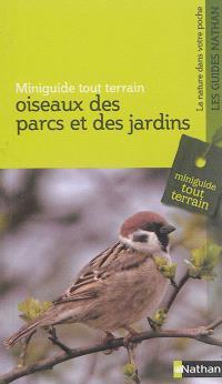 Oiseaux des parcs et des jardins