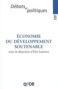 Economie du développement soutenable