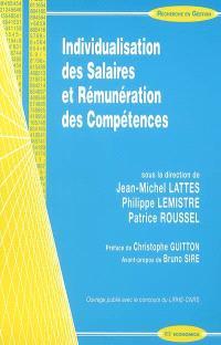 Individualisation des salaires et rémunération des compétences