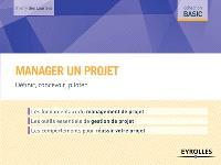 Manager un projet : définir, concevoir, piloter