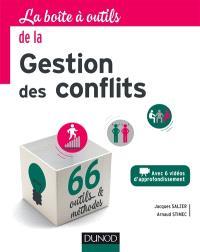 La boîte à outils de la gestion des conflits : avec 6 vidéos d'approfondissement : 66 outils & méthodes