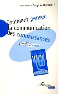 Comment penser la communication des connaissances : du CD-ROM à l'Internet