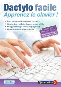Dactylo facile : apprenez le clavier !