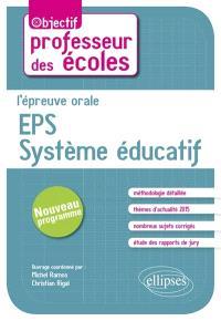 L'épreuve orale EPS, système éducatif