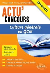 Culture générale en QCM 2016-2017