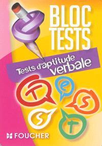 Tests d'aptitude verbale