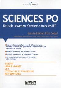Sciences Po : réussir l'examen d'entrée à tous les IEP