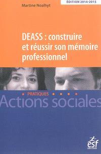 DEASS : construire et réussir son mémoire professionnel