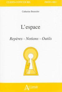 L'espace : repères, notions, outils