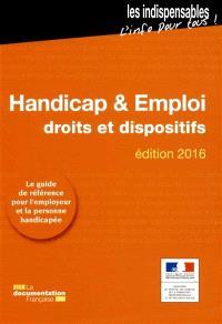 Handicap & emploi : droits et dispositifs