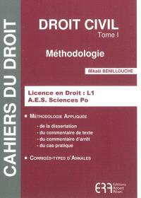 Droit civil. Volume 1, Méthodologie