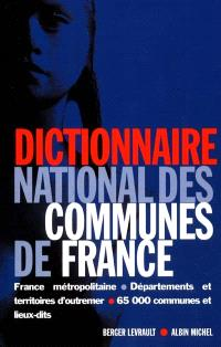 Dictionnaire national des communes de France