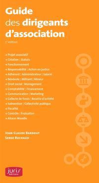 Guide des dirigeants d'association