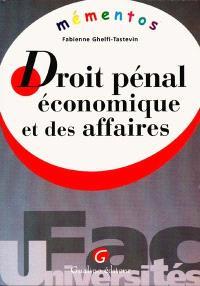 Droit pénal économique et des affaires