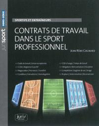 contrats de travail dans le sport professionnel